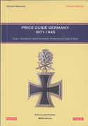 'Price guide orders and decorations Germany 1871-1945. '